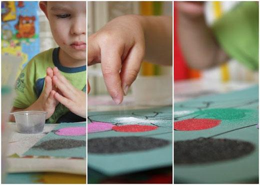Мастер класс работы с цветной бумагой